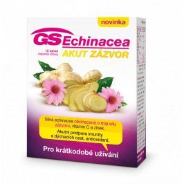 GS Echinacea Akut zázvor tbl.15